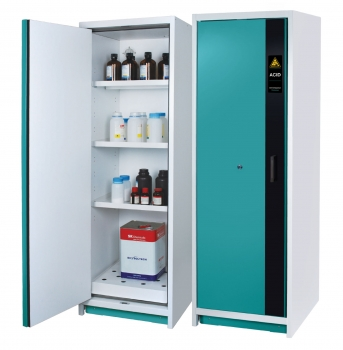 Safety Cabinets for Long-Term Storage of Corrosive Substances